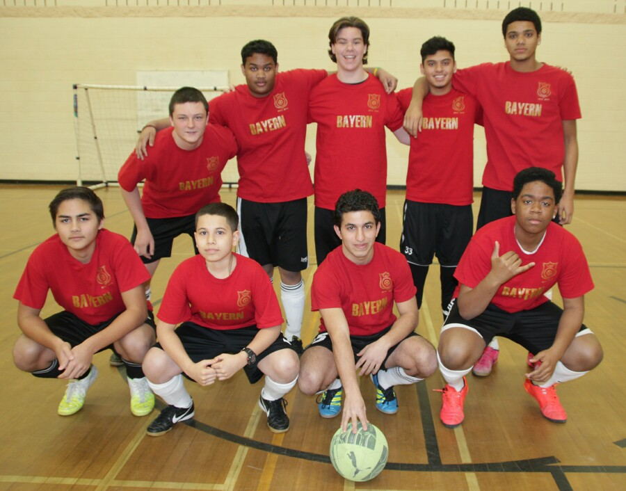 Dufferin Peel Catholic District School Board: Indoor Soccer Championship